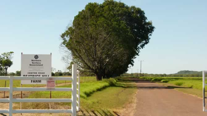 Beatrice Hill Farm entrance
