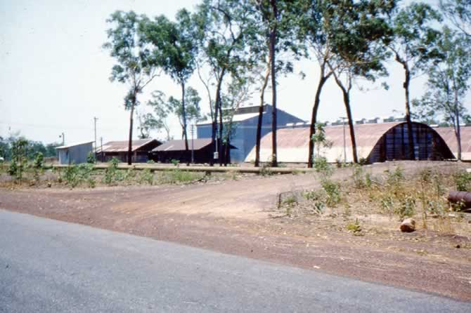 Rice mill drying sheds - Coolalinga